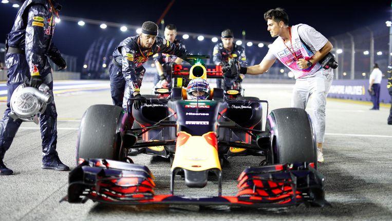 Rys zelf in beeld, tijdens een Formule 1-race. Beeld Vladimir Rys. All rights reserved.
