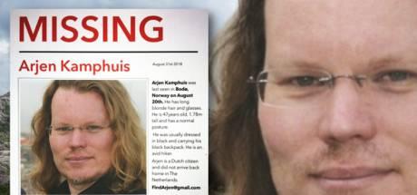Politie: 'Verder zoeken waar spullen Arjen Kamphuis lagen nu zinloos'