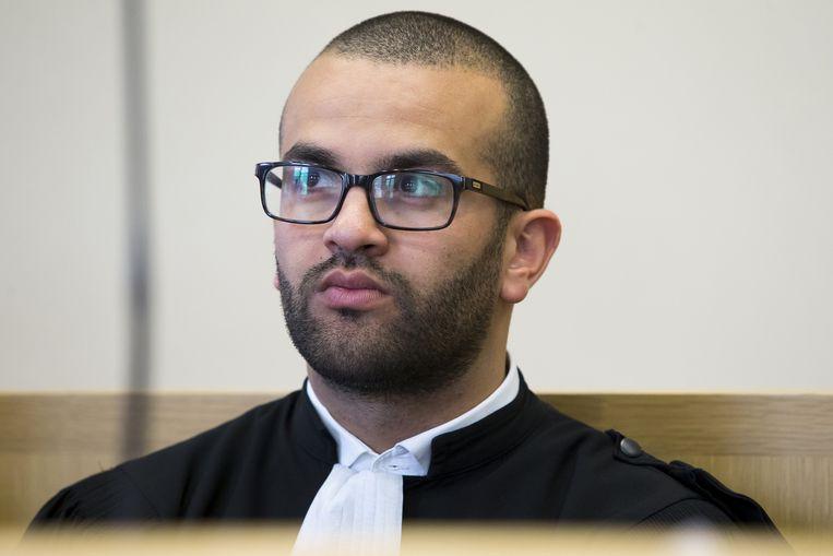 Advocaat Nabil Riffi.