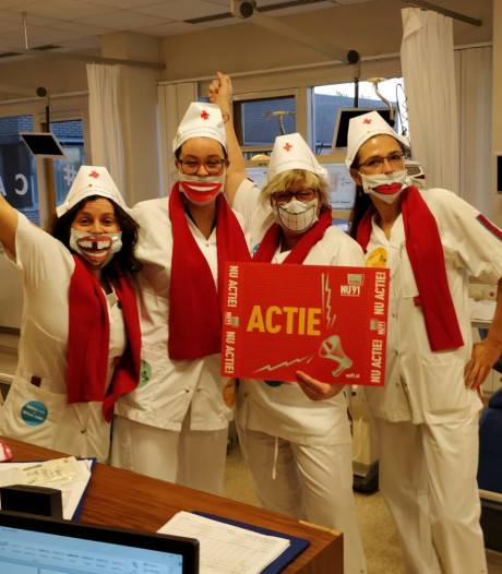 Acties in Zeeuwse ziekenhuizen: 'We zijn geen stakers, maar het kan zo niet langer'