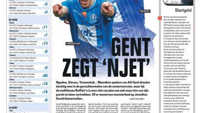 Gent zegt 'njet'