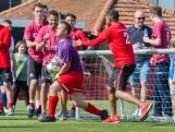 FC Twente-spelers in actie tijdens Sander Boschkertoernooi