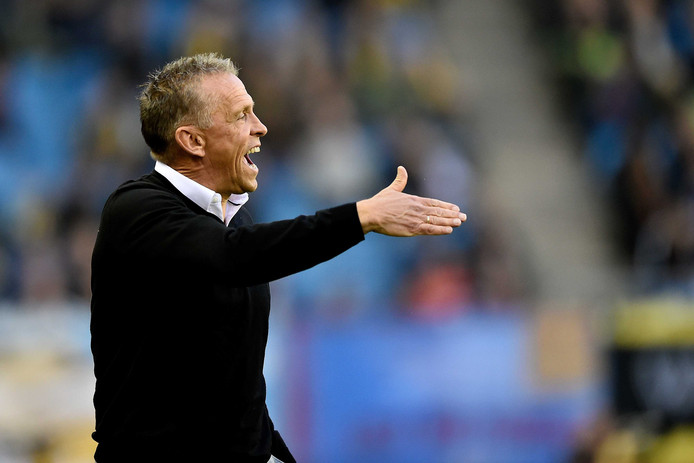 Vitesse-trainer Edward Sturing.