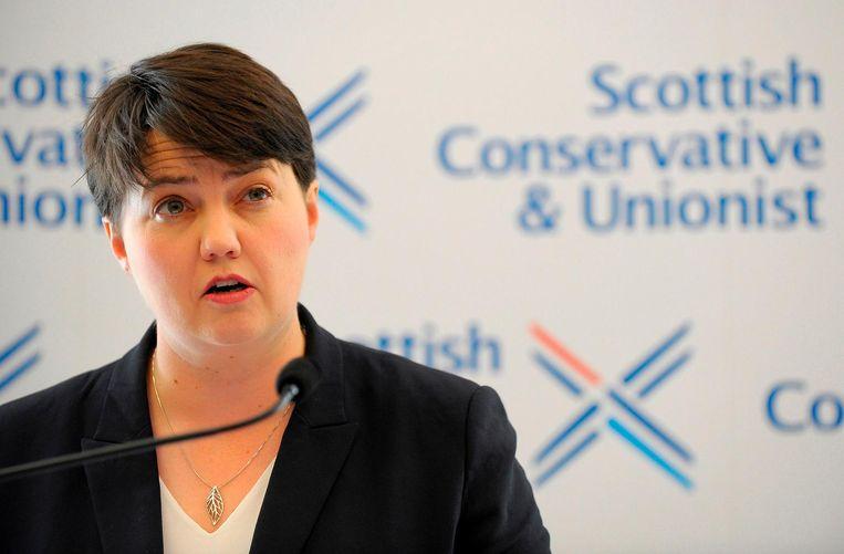 Ruth Davidson. Beeld AFP