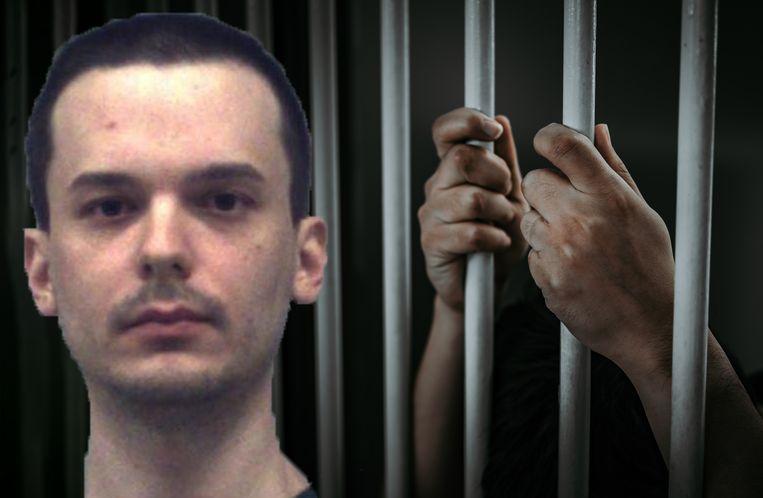 Michael Wysolovski sloot zijn slachtoffer op in een hondenhok.