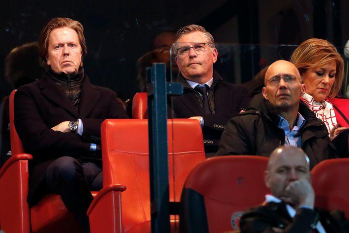 Jan de Jong sprak zijn steun uit voor technisch directeur Martin van Geel.