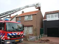 Schoorsteenbrand snel geblust in Oost-Souburg