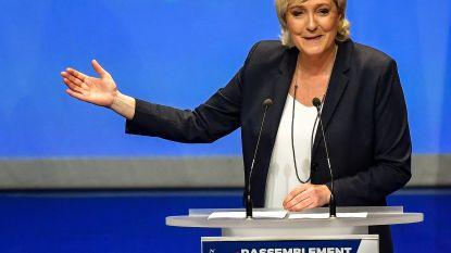 Marine Le Pen stelt nieuwe naam van Franse Front National voor