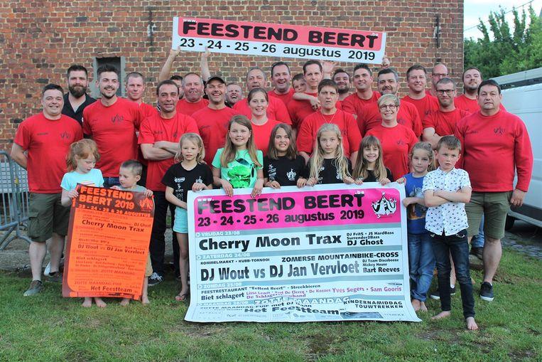 De organisatoren van Feesten Beert zijn klaar voor een feest dat vier dagen zal duren.
