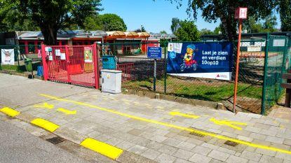 Scholen gaan winkelstraten achterna: ook leerlingen krijgen aparte wandelstroken