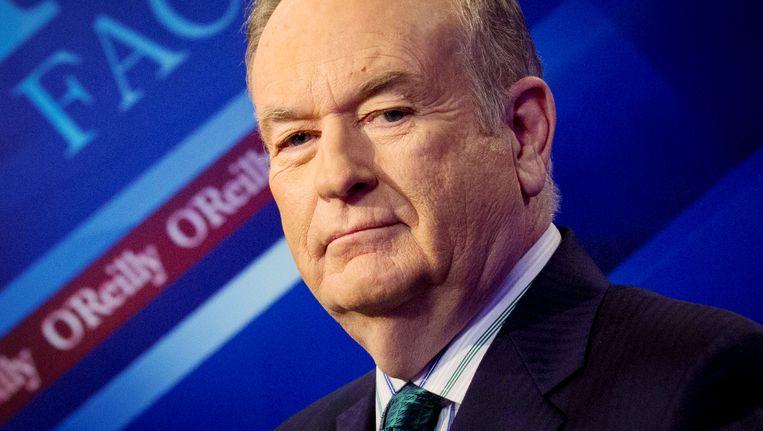 Presentator Bill O'Reilly van Fox News. Beeld reuters