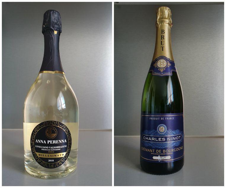 1. Anna Perenna Millesimato | 2. Charles Ninot Crémant de Bourgogne Brut
