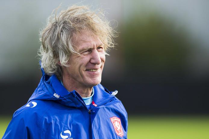 Gertjan Verbeek, de nieuwe trainer en technisch manager van FC Twente.