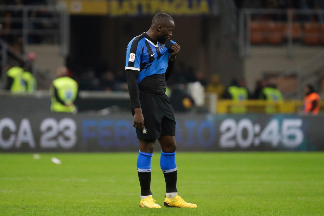 Pas très en vue dans le choc contre la Juve, Romelu Lukaku est la cible de nombreuses critiques en Italie.