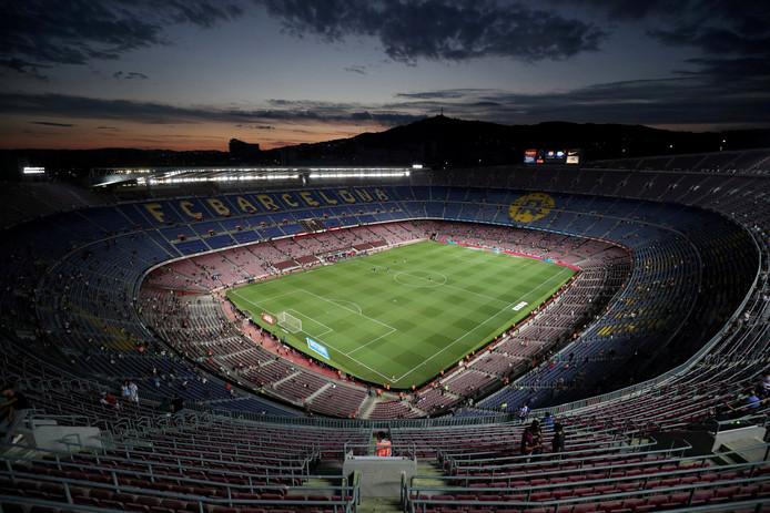Archieffoto Nou Camp in  Barcelona.