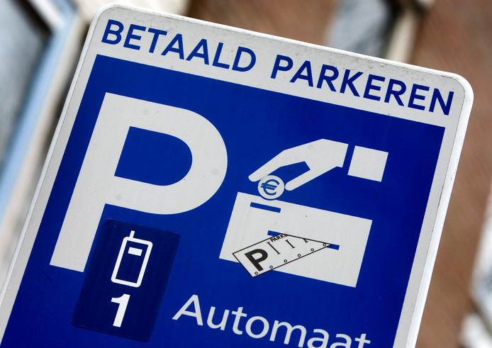 Betaald parkeren, foto ter illustratie.