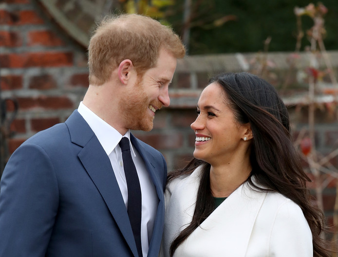 In Botswana is naar verluidt de vonk overgesprongen tussen Harry en Meghan.