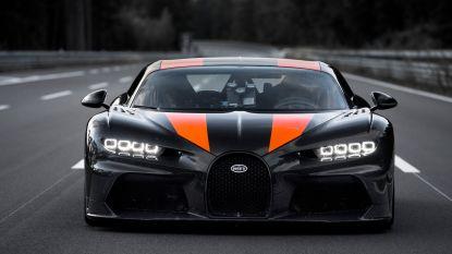Nieuw wereldrecord: deze Bugatti raast 490 kilometer per uur