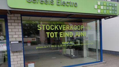 Bekende elektrozaak Gereels stopt in juli met fysieke winkel in Jabbeke