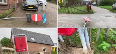 Burgemeester: 'Nog geen sprake van golf van vernielingen in Boven-Hardinxveld'