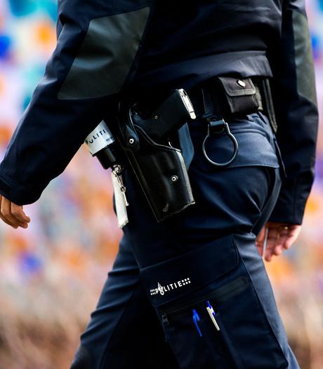 Politie lost waarschuwingsschot bij aanhouding in buitenland gezochte man