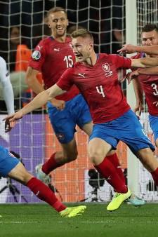 Tsjechië stunt tegen Engeland