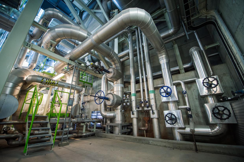 Een energiecentrale van Vattenfall in Zweden.