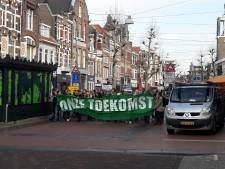 Opnieuw klimaatstakers in optocht door het centrum van Nijmegen