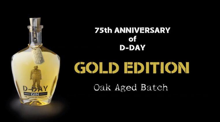 Gouden editie van D-Day Gin