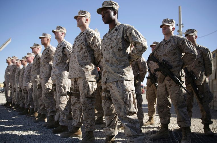 Archieffoto 2018: Amerikaanse soldaten in Afghanistan.