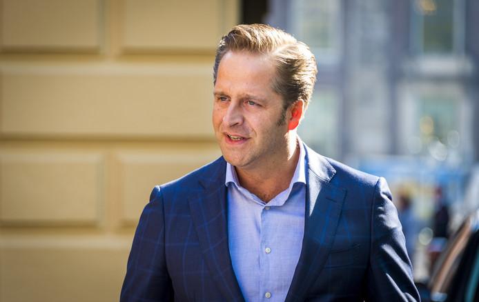 Minister Hugo de Jonge van Volksgezondheid Foto ANP/Lex van Lieshout.