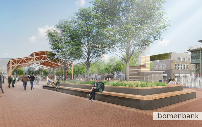 Dit is het winnende ontwerp, dat begin 2021 gerealiseerd moet zijn.