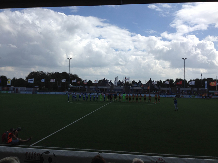 Ter Leede - Hoek eindigde in 1-0