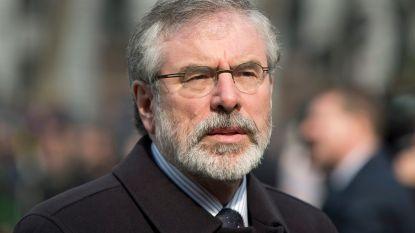 Explosief naar huis van gewezen Sinn Féin-leider Gerry Adams geworpen