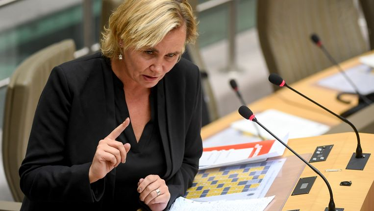 Minister Liesbeth Homans.