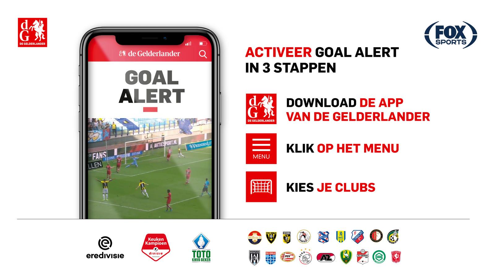 Goal Alert DG