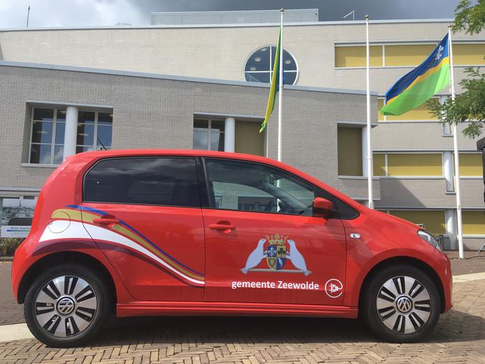 De elektrische deelauto voor Zeewoldenaren is al aangeschaft.