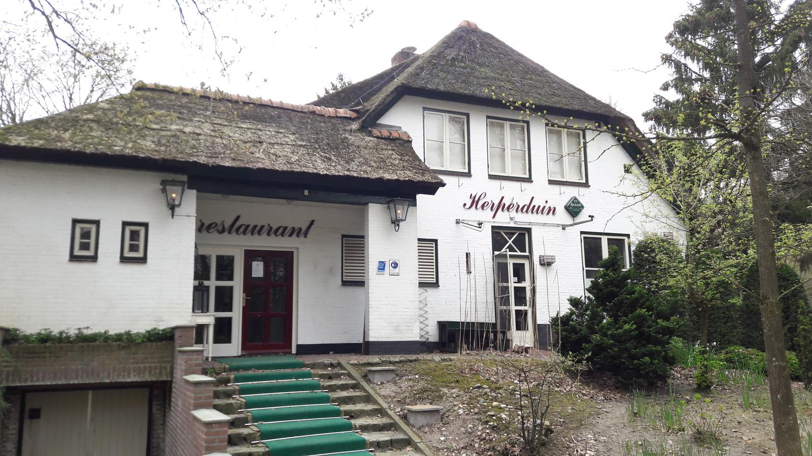 Restaurant Herperduin is 'vanaf heden' gesloten.