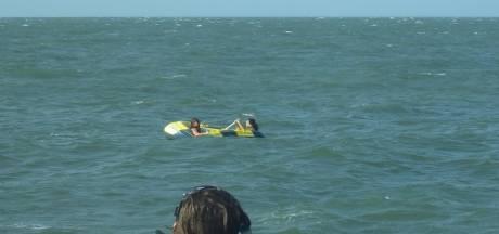 Twee meiden in rubberbootje gered op Westerschelde