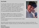 Verklaring over de dood van Alex Rodda op de site van zijn school.