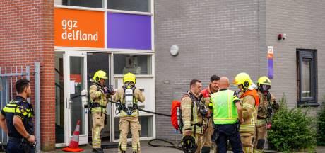 GGZ-kliniek ontruimd bij brand, bewoner onwel