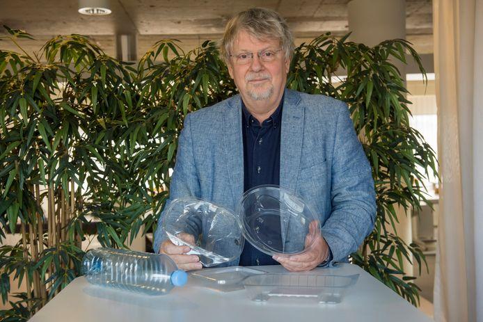 Johan Kerver: door watermerk kan plastic voedselverpakking worden hergebruikt.