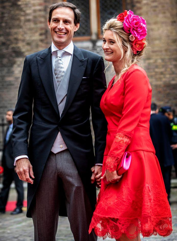 Wopke Hoekstra met partner