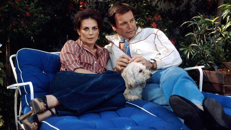 Natalie Wood en Robert Wagner, omstreeks 1980. Beeld bruno