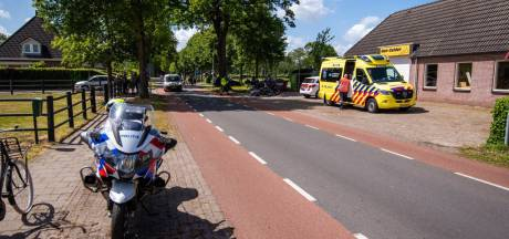 Motorrijder onderuit na uitwijkmanoeuvre in IJhorst