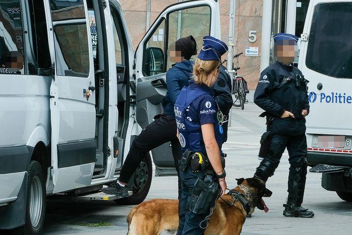 arrestaties aan de Naamsepoort
