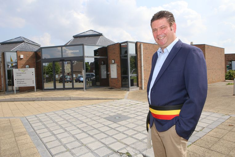 Burgemeester van Bekkevoort Hans Vandenberg verzet zich tegen een fusie.