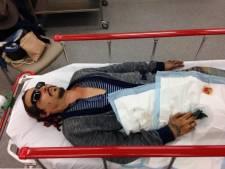 """Johnny Depp contre Amber Heard: des photos choquantes dévoilées au tribunal, il admet avoir mis """"un coup de tête"""" à son ex"""