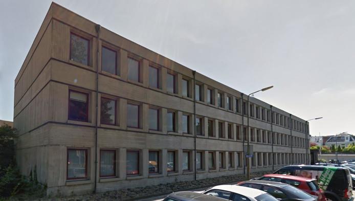 Het oude GGD-gebouw.