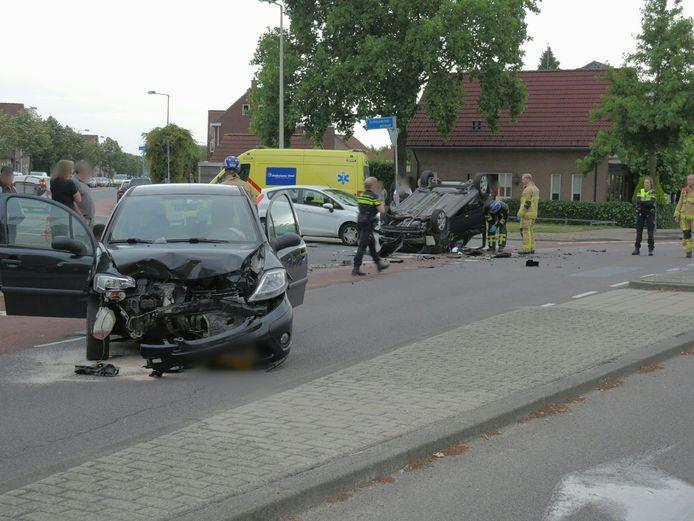 Ernstige aanrijding in Enschede